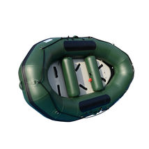 BRIS 9.8ft Inflatable White Water River Raft 2 Person Self Bailing Raft Dinghy image 11