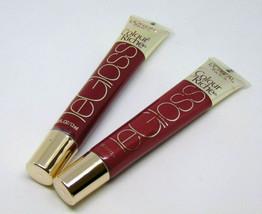 Lot of 2 L'OREAL LEGLOSS Colour Riche LipGloss No.156 & 162 0.40oz / 12ml - $7.88
