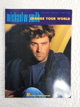 Michael W Smith Change Your World Piano Vocal Guitar Music Song Book 1993 - $8.92