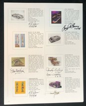 DISNEYLAND Gallery Tomorrowland 1998 Event Litho Signed by 6 Gurr McKim - $139.89