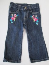 Gymboree flower applique jeans SIZE 2T - $4.90