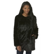 New Metaphor Women's Faux Fur Coat Black Variety Sizes MSRP $140.00 - $69.99