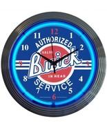 "GM Buick Service Neon Clock 15""x15"" - $69.00"
