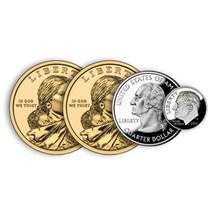 Two Dollar Thirty Five Cent Trick - 4 Tricks in 1 - Locking Version! - $34.60