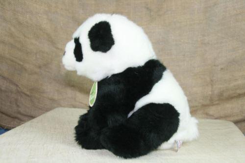 Aurora World Nature Babies Plush Panda Stuffed Animal With Neck Tag image 2
