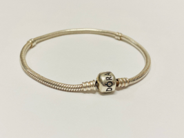 Authentic Sterling Silver Pandora Iconic Silver Charm Bracelet - $40.00