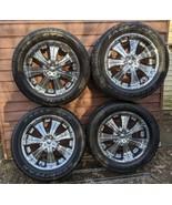 4 21-inch Veloche rims & Center Caps w/ Tires P285/50r20 EUC Trucks Suvs... - $1,386.00