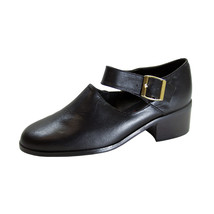 PEERAGE Petra Women's Wide Width Leather Ankle Strap Shoes - $44.95
