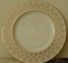 """Lenox Jacquard Gold 9 1/4"""" Accent Luncheon Plate - $34.00"""
