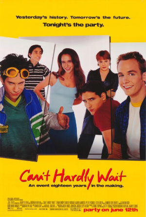 Can't Hardly Wait Vhs