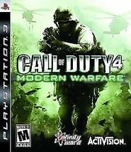 Call of Duty 4: Modern Warfare (Sony PlayStation 3, 2007) - $15.83