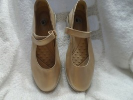 Gold Mary Jane Secacia Comfort shoes size 6.5 M by Easy Spirit - $25.92 CAD