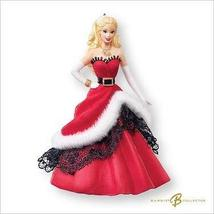Barbie 2007 Hallmark Holiday Celebration Barbie #8 Ornament - $39.60