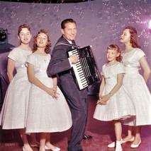 Lawrence Welk playing accordion with the Lennon... - $7.18
