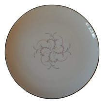 Wentworth China Japan Serenada Dinner Plate Pink & Grey - $8.85