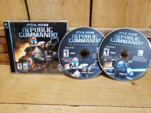 Primary image for Star Wars: Republic Commando - PC CD Computer Game Case Disc's and Code