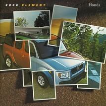 2006 Honda ELEMENT sales brochure catalog 06 US LX EX - $10.00