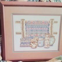 Desert Weavings American Southwest Cross Stitch Leaflet Book Color Charts 1991 - $18.99