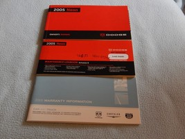 2005 Dodge Neon Owners Manual With Binder - $10.00