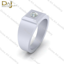 0.25ct Solitaire Diamond Engagement Ring Band White Gold Wedding Rings J... - £81.61 GBP+