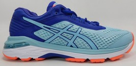 Asics GT 2000 v 6 Size US 7 M (B) EU 38 Women's Running Shoes Blue Aqua T855N