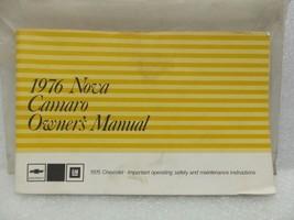 1976 Camaro & Nova Owners Manual 16049 - $18.76
