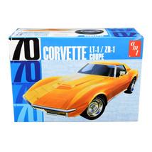 Skill 2 Model Kit 1970 Chevrolet Corvette LT-1/ZR-1 Coupe 1/25 Scale Mod... - $44.23