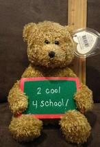 TY Beanie Baby - SCHOOL ROCKS the Bear (2 Cool 4 School!) - $2.99