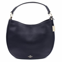 Coach Womens Natural Calf Navy Blue Nomad Hobo Glovetan Bag 36026.LINAV - $249.00