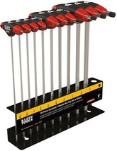 Klein Tools Hex Key Set 9 in. Length Soft-Touch Grips Black Oxide Tip (10-Piece) - $55.59
