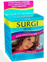Surgi-wax Complete Hair Removal Kit For Face, 1.2-Ounce Boxes Pack of 3 image 1
