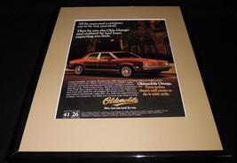 1981 Oldsmobile Omega 11x14 Framed ORIGINAL Vintage Advertisement - $34.64