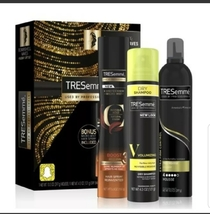Tresemme Hair Styling Kit 3 Pc. Mousse, hair spray, Dry Shampoo. Bombshe... - $10.00