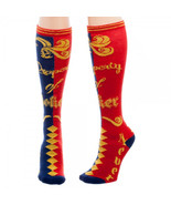 Suicide Squad Harley Quinn Property of Joker Knee High Socks - $13.88