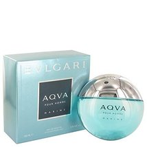 Bvlgari Aqua Marine by Bvlgari Eau De Toilette Spray 5 oz for Men - 100% Authent - $98.79