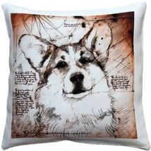 Pillow Decor - Pembroke Welsh Corgi 17x17 Dog Pillow - $965,50 MXN