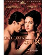 Original Sin (DVD, 2002, Unrated Edition) - £7.98 GBP