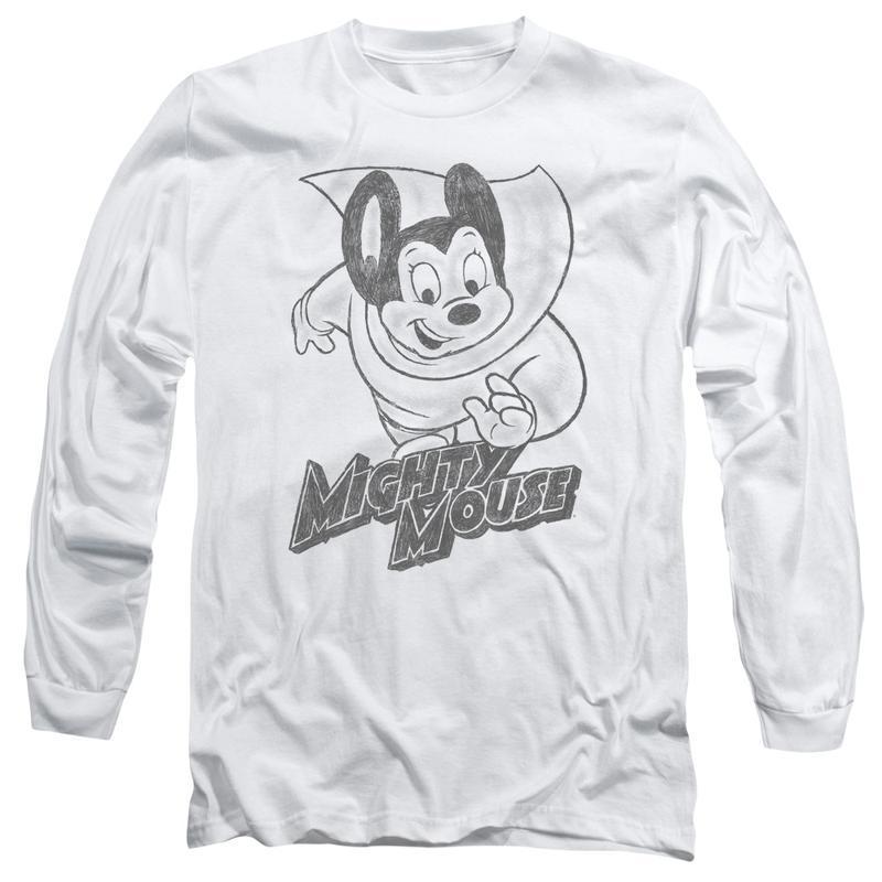 S saturday morning cartoon superhero for sale online graphic t shirt long sleeve cbs1136 al 800x