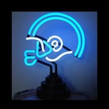 """Neon Football Helmet Sculpture Wall Bar Sign  12"""" x 12"""" - $89.99"""