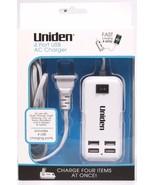 NEW Uniden 4 Port USB hub AC Charger - $12.06