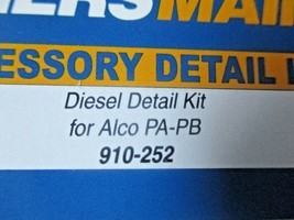 Walthers Mainline #910-252  Alco PA-PB Diesel Detailing Kit  HO Scale image 2
