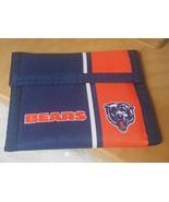 Vintage Chicago Bears Rainbow of California Tri Fold Velcro Wallet New U... - $19.79