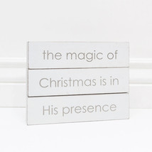 Adams & Co. Christmas Decor - Magic is in His Presence - $15.79