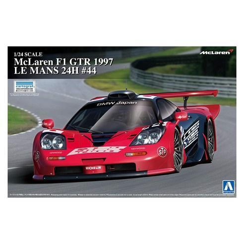 Primary image for Aoshima plastic model McLaren F1 GTR 1997 Le Mans-24H 44 Japanese version 00746