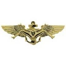 US Navy Bush Wing  Gold Badge Pin   - $9.89