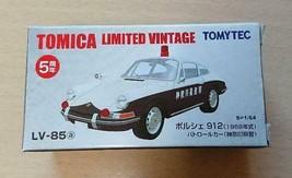 TOMY TEC Tomica Porsche 912 Patrol Car LV-85 Limited Vintage 5th Anniv. Rare - $255.41