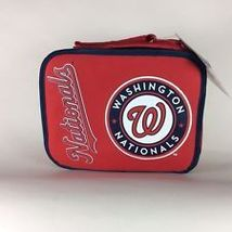 WASHINGTON NATIONALS-INSULATED LUNCHBOX - $13.95