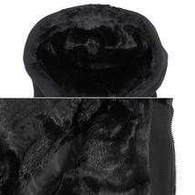 EKZ Men's Graphic Geo Tribal Fleece Lined Zip Up Sherpa Hoodie Jacket image 4