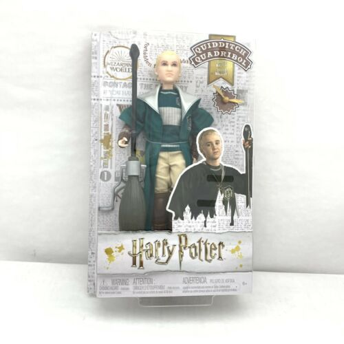 "Primary image for DRACO MALFOY Quidditch HARRY POTTER 12"" Doll FIGURE"