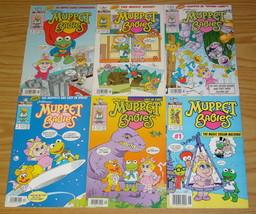 Jim Henson's Muppet Babies #1-6 VF complete series - harvey comics - newsstand - £70.78 GBP